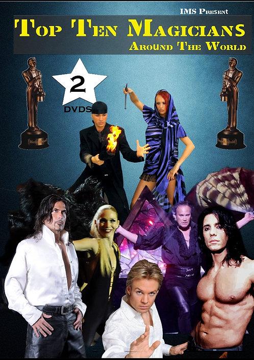 Doppio DVD TOP TEN MAGICIAN