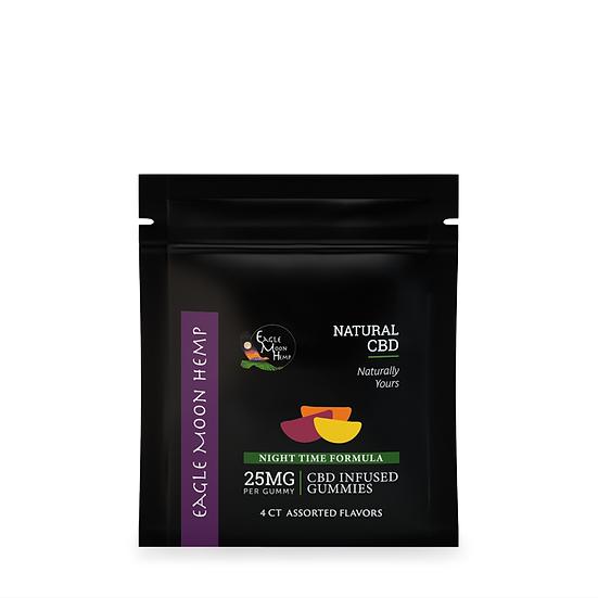 CBD Gummies - 25 mg (4 ct)
