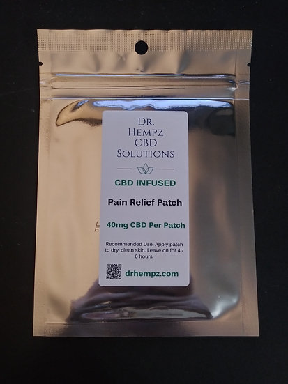 Pain Patch 40 mg each (3 Pack)