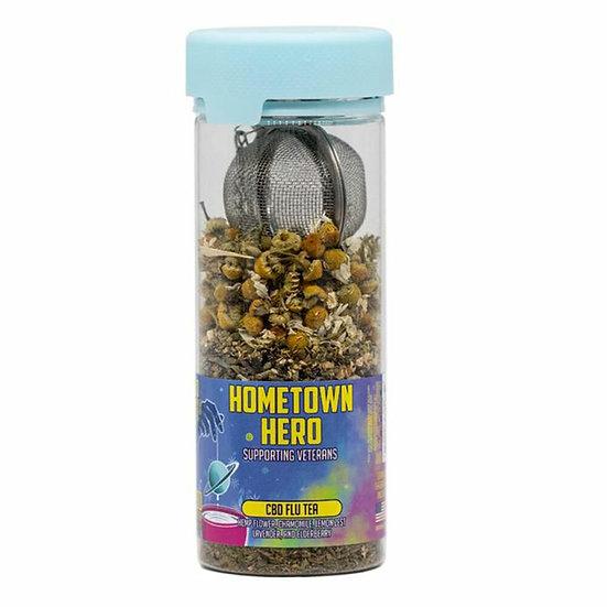 Hometown Hero 500MG CBD Flu Tea