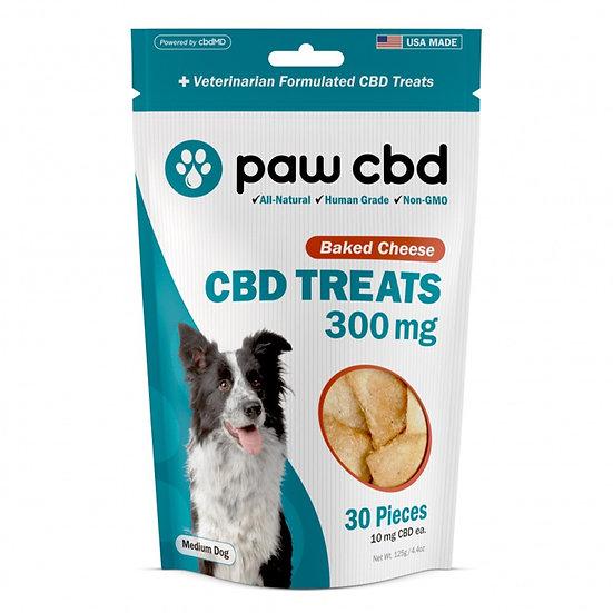 Paw CBD 300mg CBD Dog Treats - 30ct