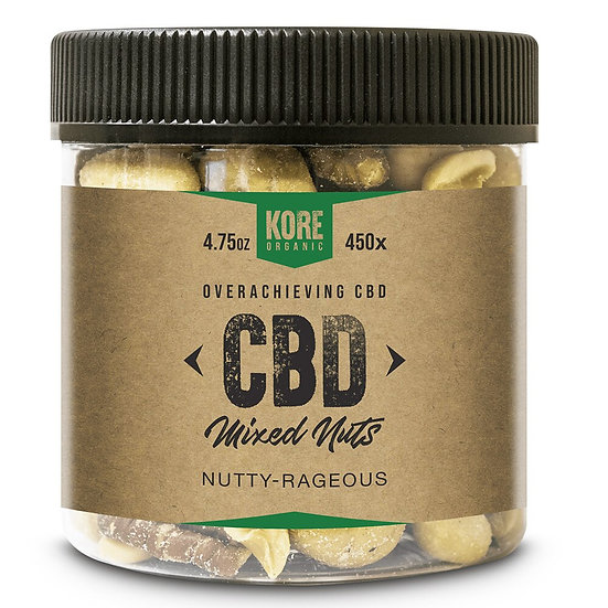 Kore Organic 450MG Isolate CBD Mixed Nuts 4.75oz (Pack of 2)