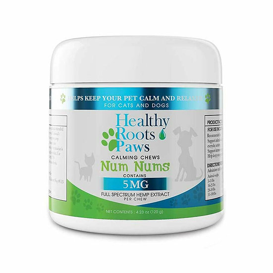 Healthy Roots Hemp 300MG Full Spectrum Calming CBD Chews For Pets(3 Pack)