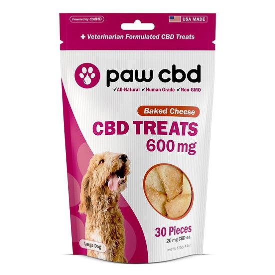 Paw CBD 600mg CBD Dog Treats - 30ct
