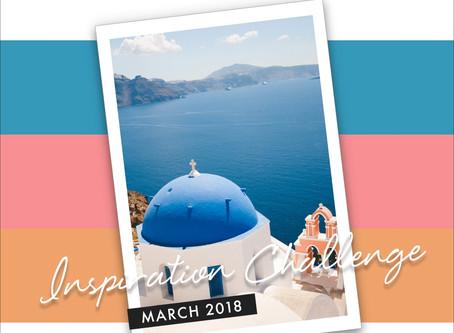 Altenew March 2018 Inspiration Challenge