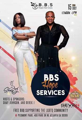 BBS Hope Services LGBTQ Community BBQ