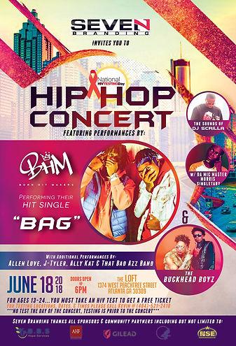 National HIV Testing Day Hip Hop Concert