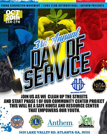 Young Generation Movement 3rd Annual Day of Service