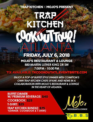 Trap Kitchen Cookout Tour Atlanta