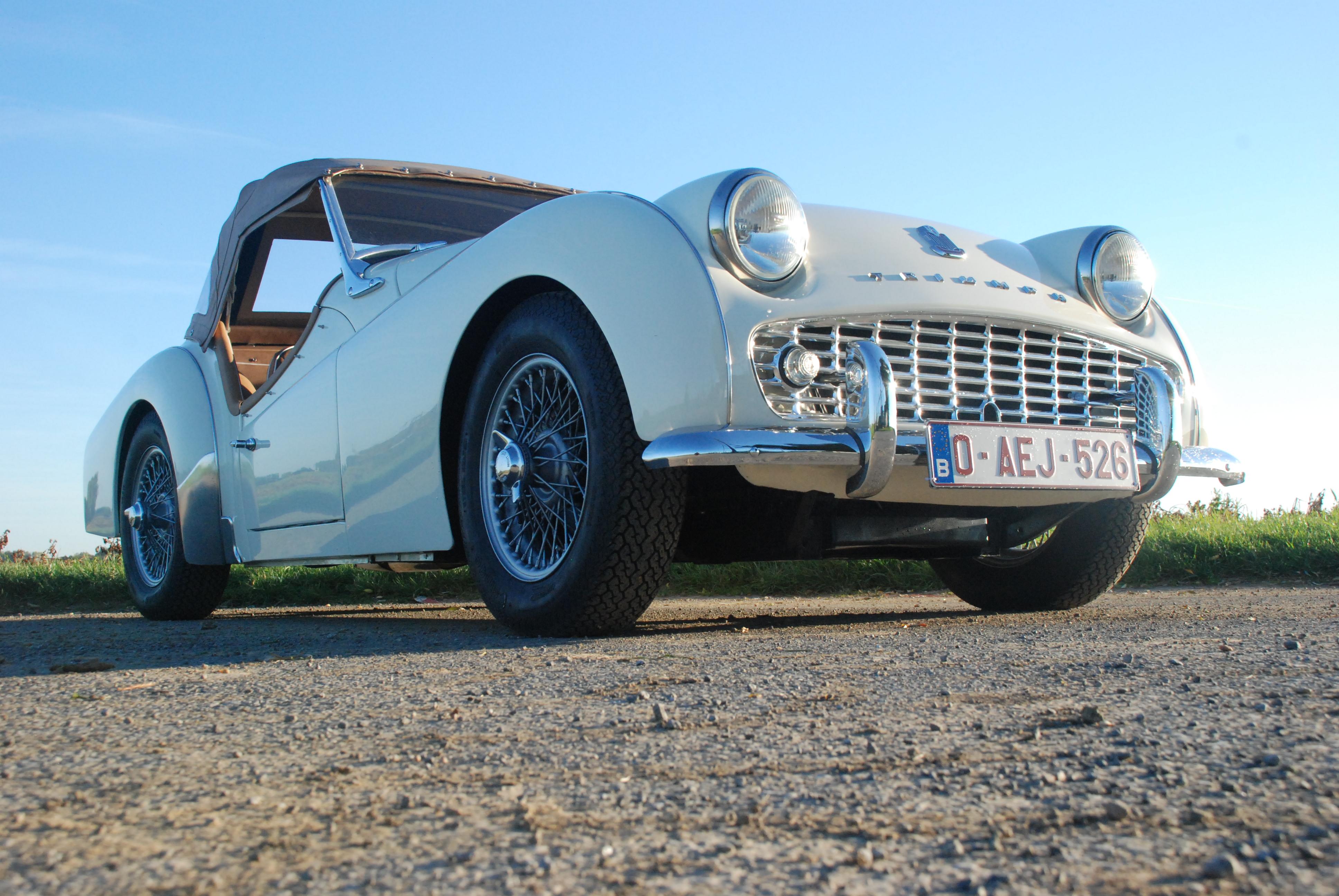 Triumph TR3A 1960