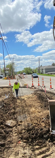 East Sandusky Avenue Water Main Replacement and Widening Project