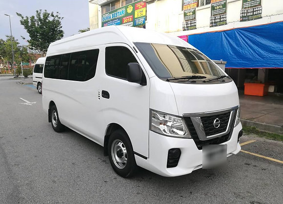 NISSAN URVAN - NV350 (15 Seater - Manual Transmission)
