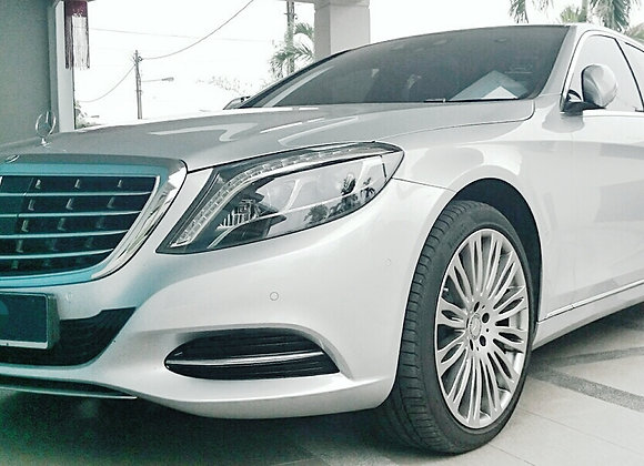 Mercedes S400 for rental by KSE Rent A Car @ mydrivehappy