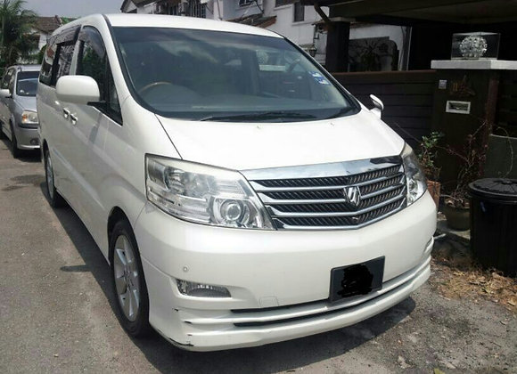 Toyota Alphard for rental by KSE Rent A Car @ mydrivehappy