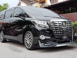 alphard for rental at Car Rental Kuala Lumpur & Selangor