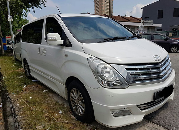 Hyundai Starex for rent by KSE Rent A Car @ mydrivehappy