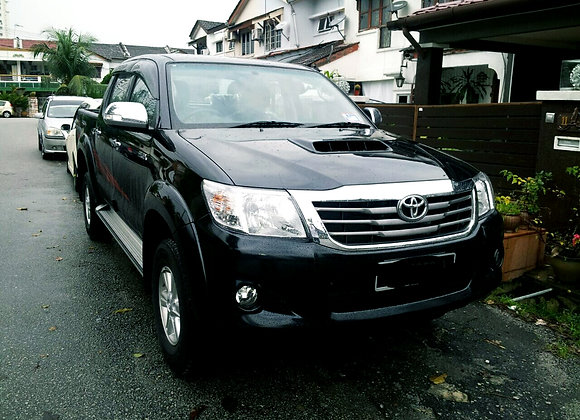 Toyota Hilux for rental by KSE Rent A Car @ mydrivehappy