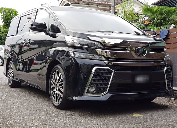 TOYOTA VELLFIRE 2018 - With Pilot Seat - NEW