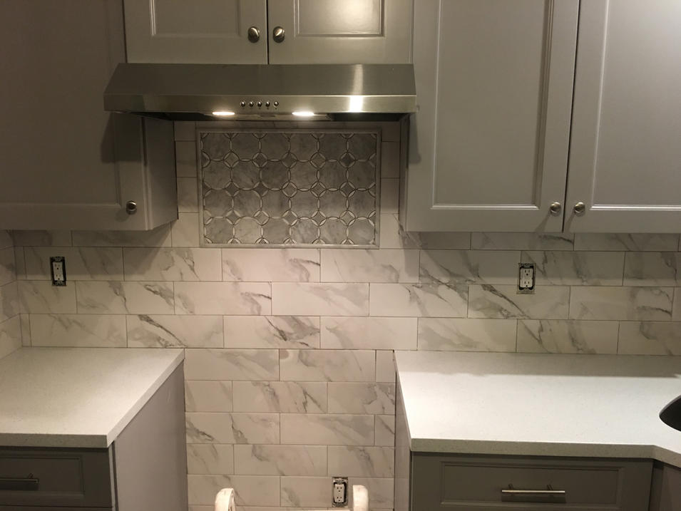 Backsplash Tile Installation by CN Coterie