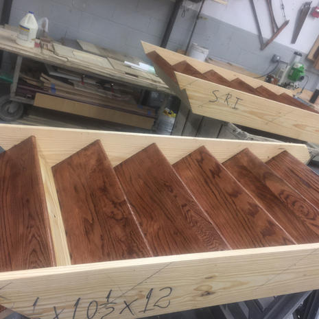 Stairway Fabrication by CN Coterie