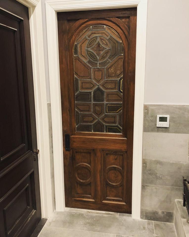 Bathroom Pocket Door Installation by CN Coterie