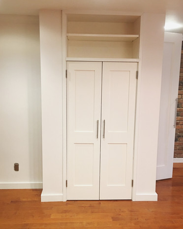 Custom Closet Fabrication and Installation by CN Coterie