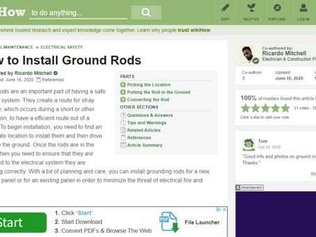 How to Install Electrical Ground Rods - CN Coterie in Association with WikiHow