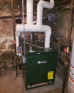 Boiler Installation by CN Coterie