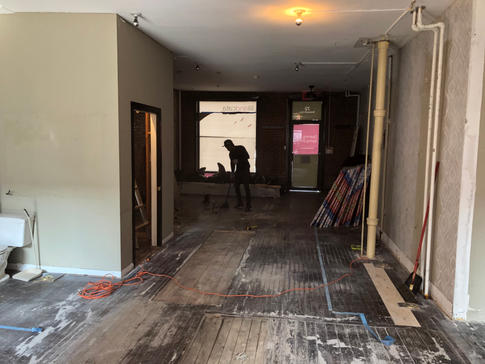 Lili and Cata Bar and Spa Renovation by CN Coterie (Before)