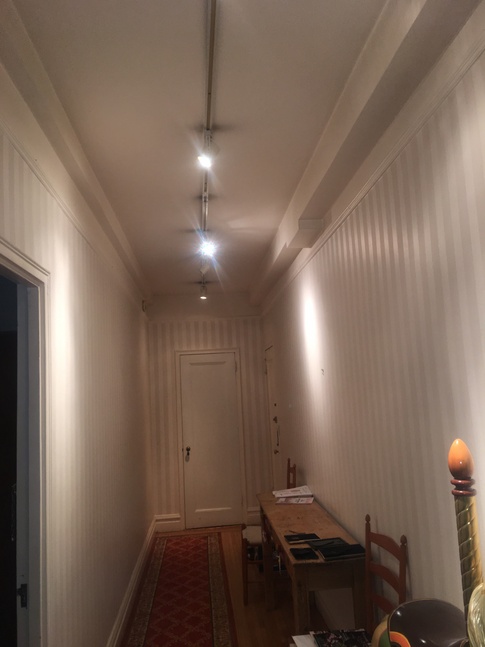 Pendant Light Installation by CN Coterie (Before)