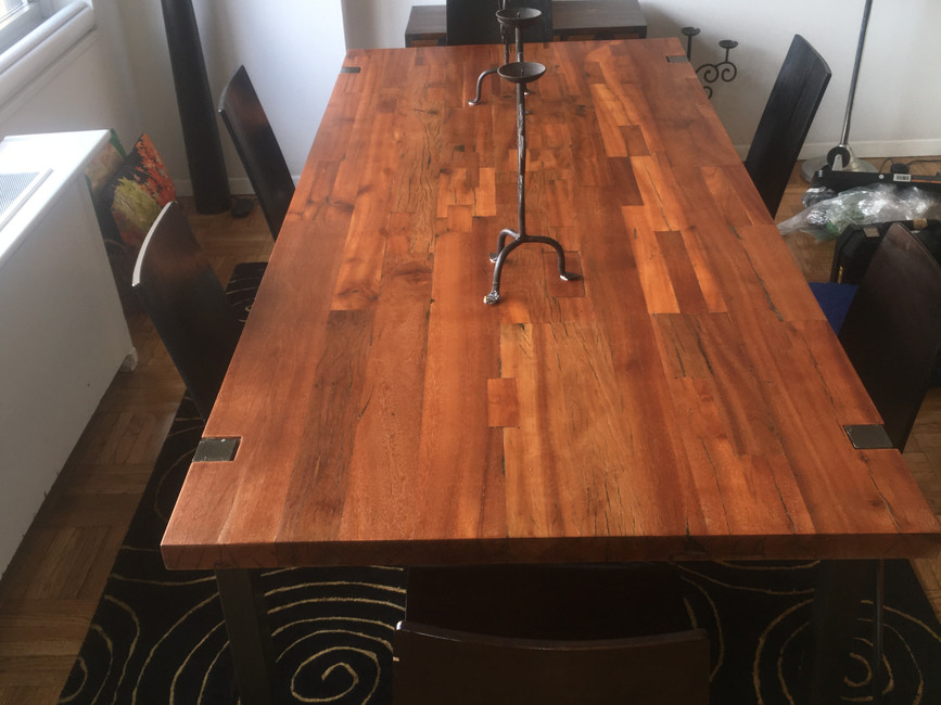 Dining Table Restoration by CN Coterie