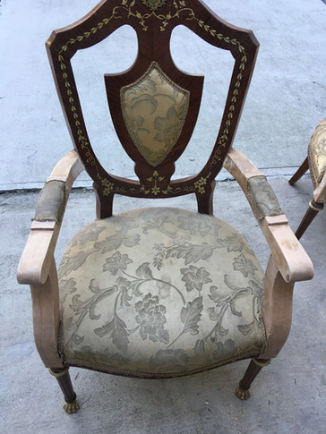 Arm Chair Restoration by CN Coterie (Before)