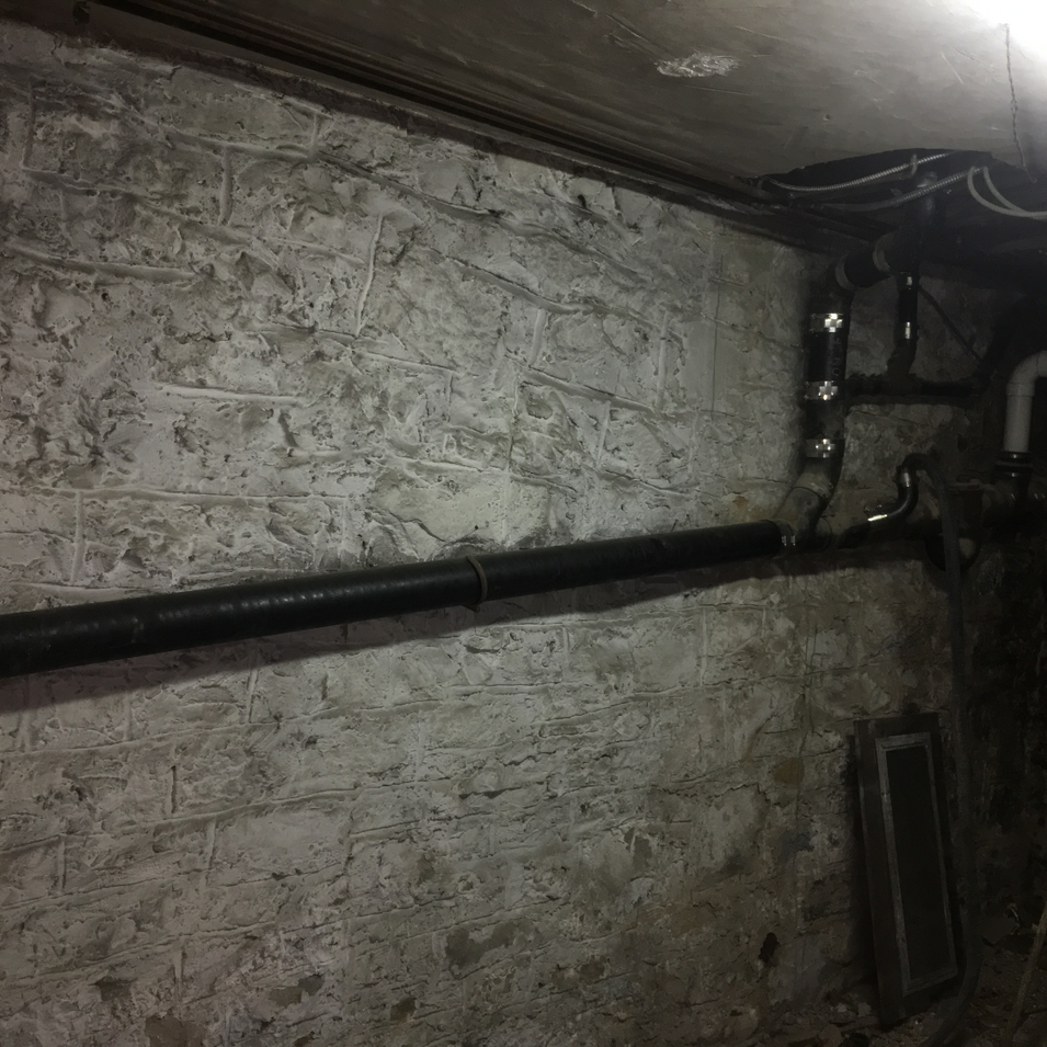 Plumbing Waste Pipe Installation by CN Coterie