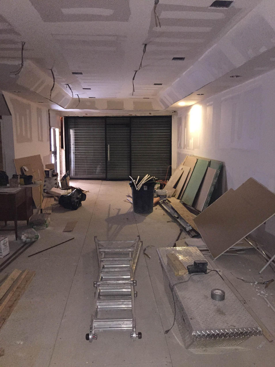 Commercial Store Renovation by CN Coterie (Before)