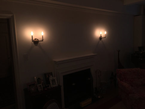 Light Sconces Installation by CN Coterie (After)