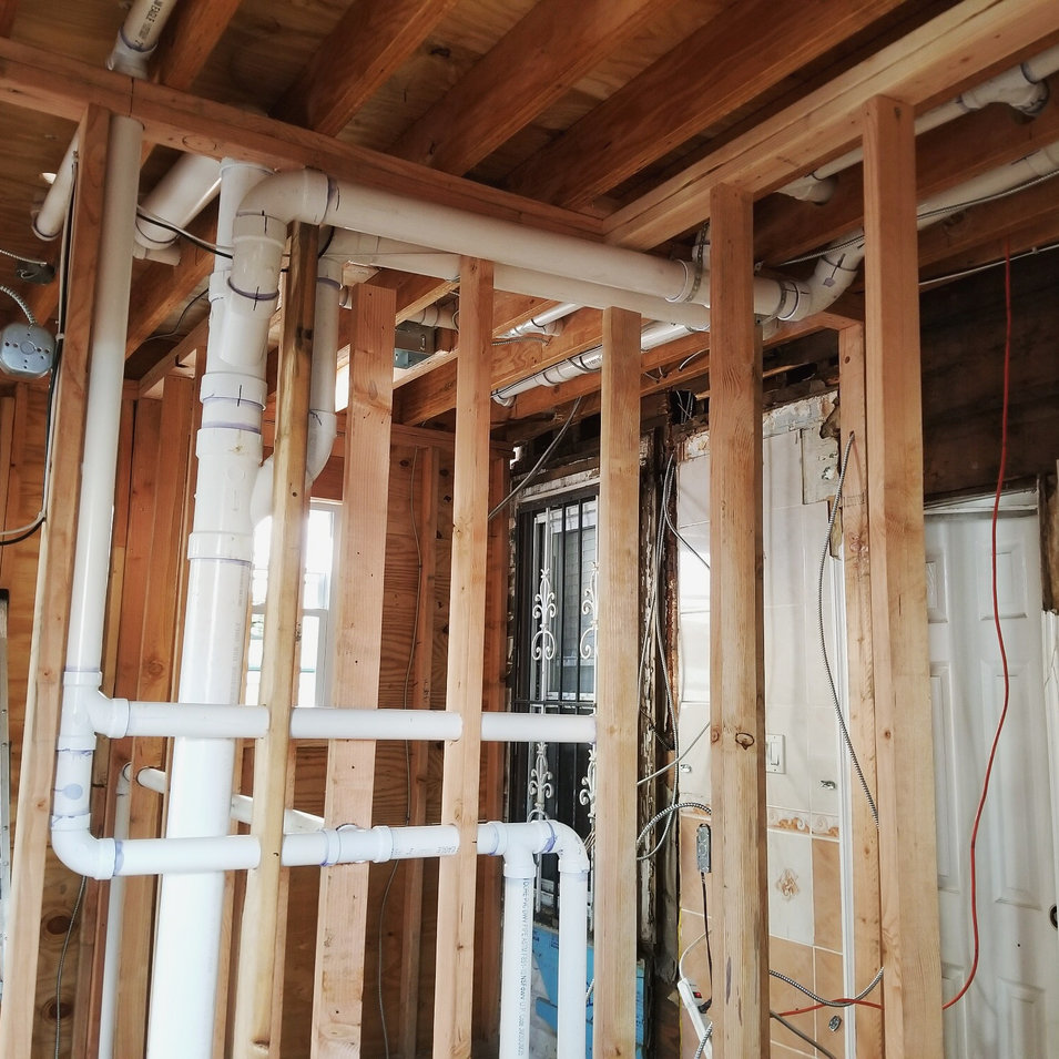 PVC Drain, Hot/Cold Water Line Installation by CN Coterie