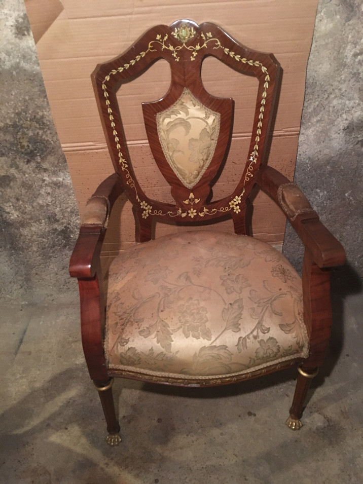 Arm Chair Restoration by CN Coterie (After)