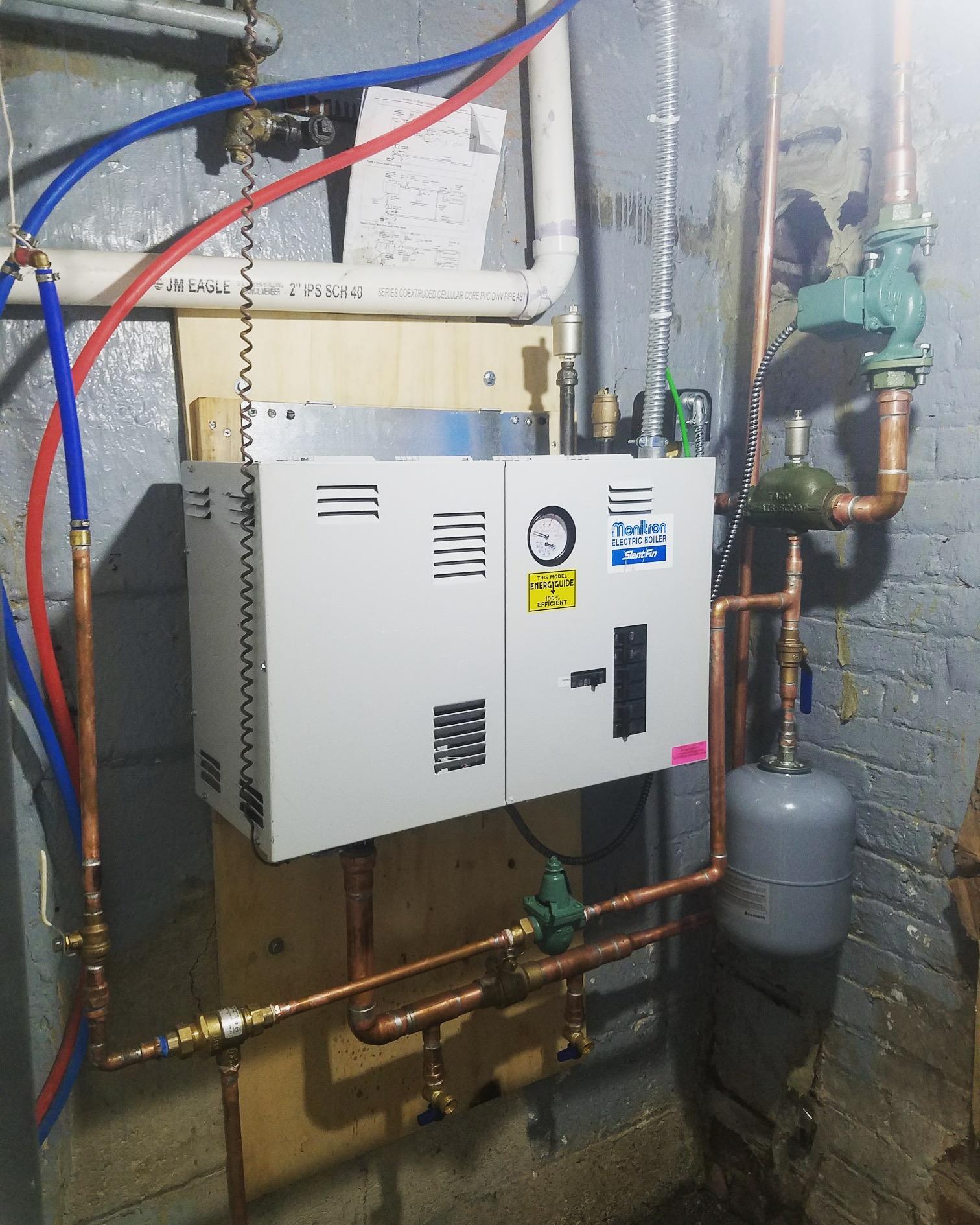 SlantFin Electric Boiler Installation by