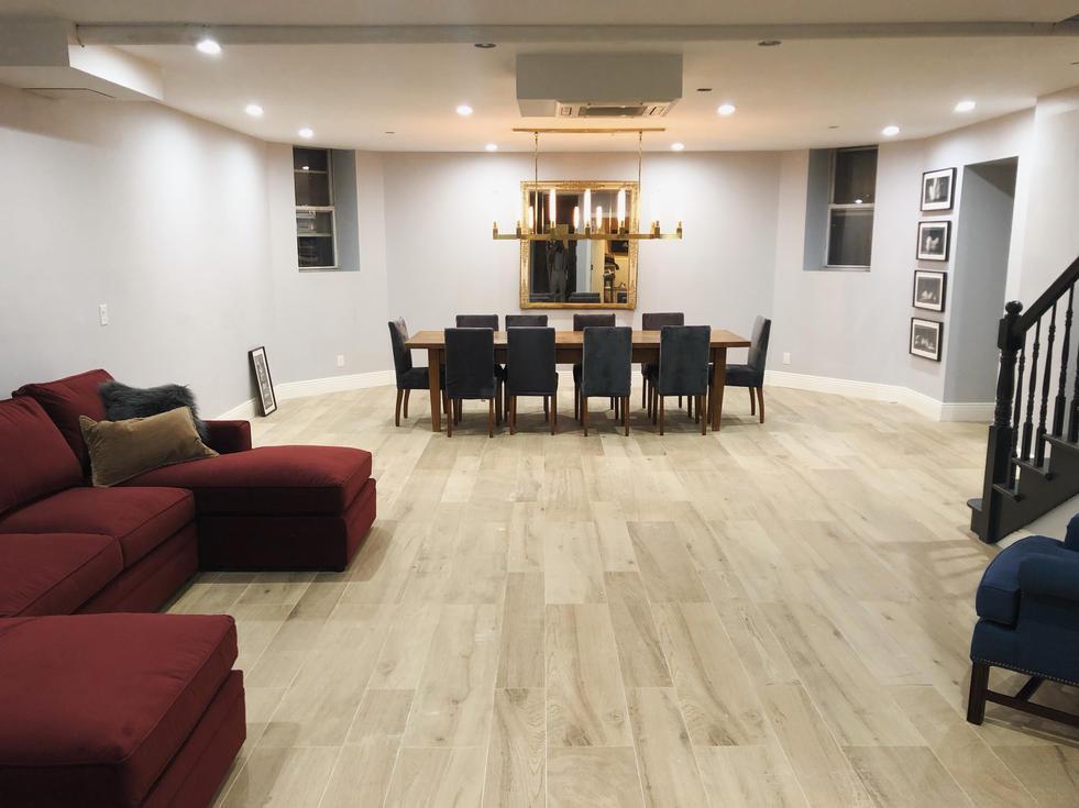 Cellar Floor Renovation by CN Coterie