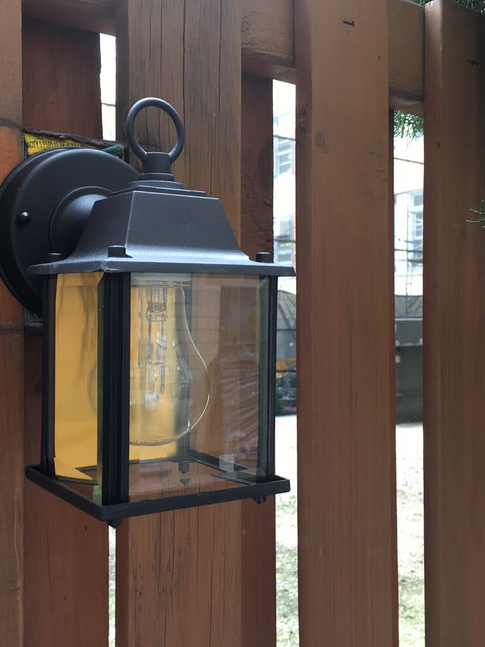 Outdoor Light Installation by CN Coterie