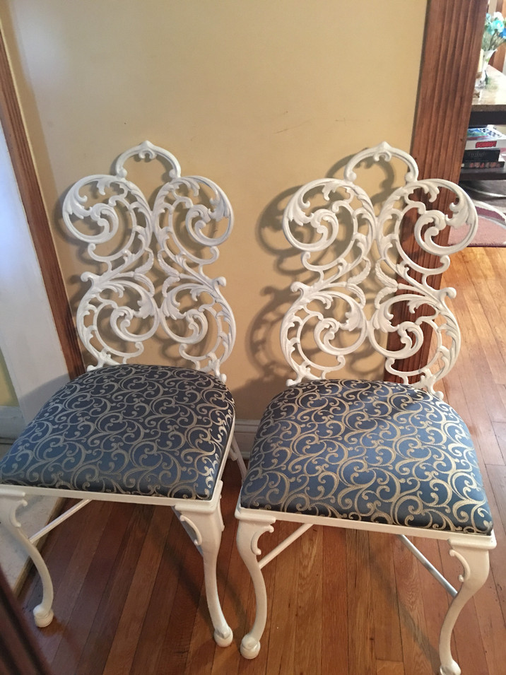 Metal Chair Restoration by CN Coterie (After)