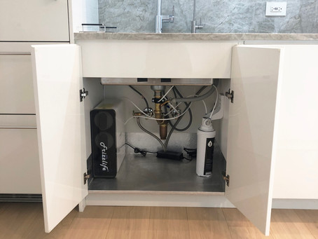 Frizzlife RO Reverse Osmosis Water Filtration System Installation by CN Coterie