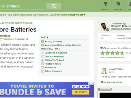 How to Store Batteries - CN Coterie in Association with WikiHow