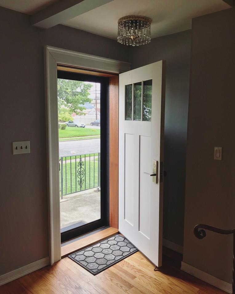 CN Coterie Door Installation