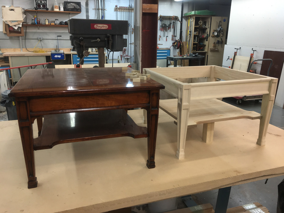 Coffee Table Replication by CN Coterie (Before)