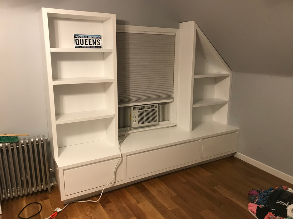 CN Coterie Bookshelf and Wall Unit