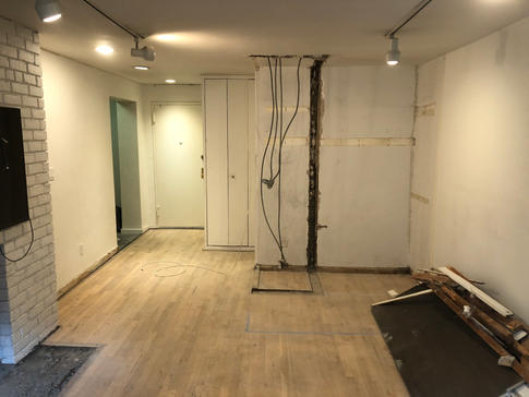 Studio Apartment Renovation by CN Coterie (Before)