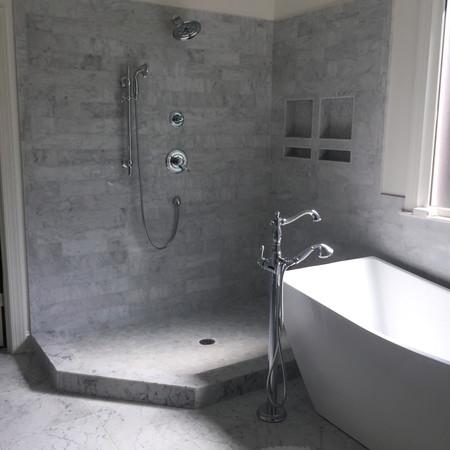 Custom Marble Shower