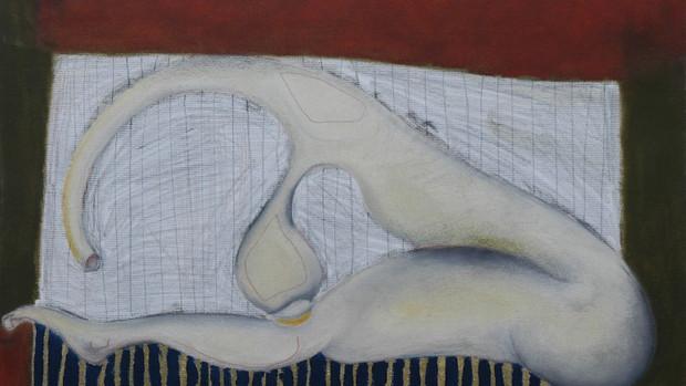 Corpo di donna su tappeto