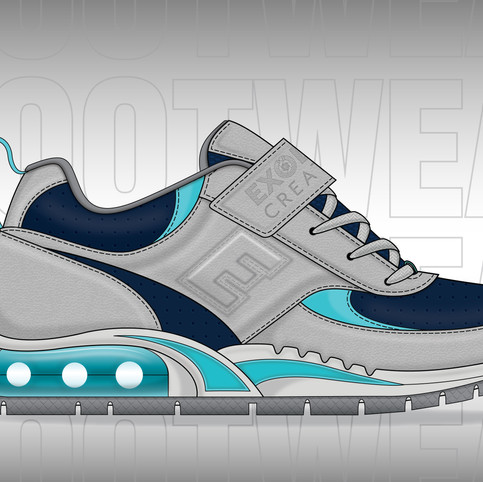 Athletic Upper & Outsole Design